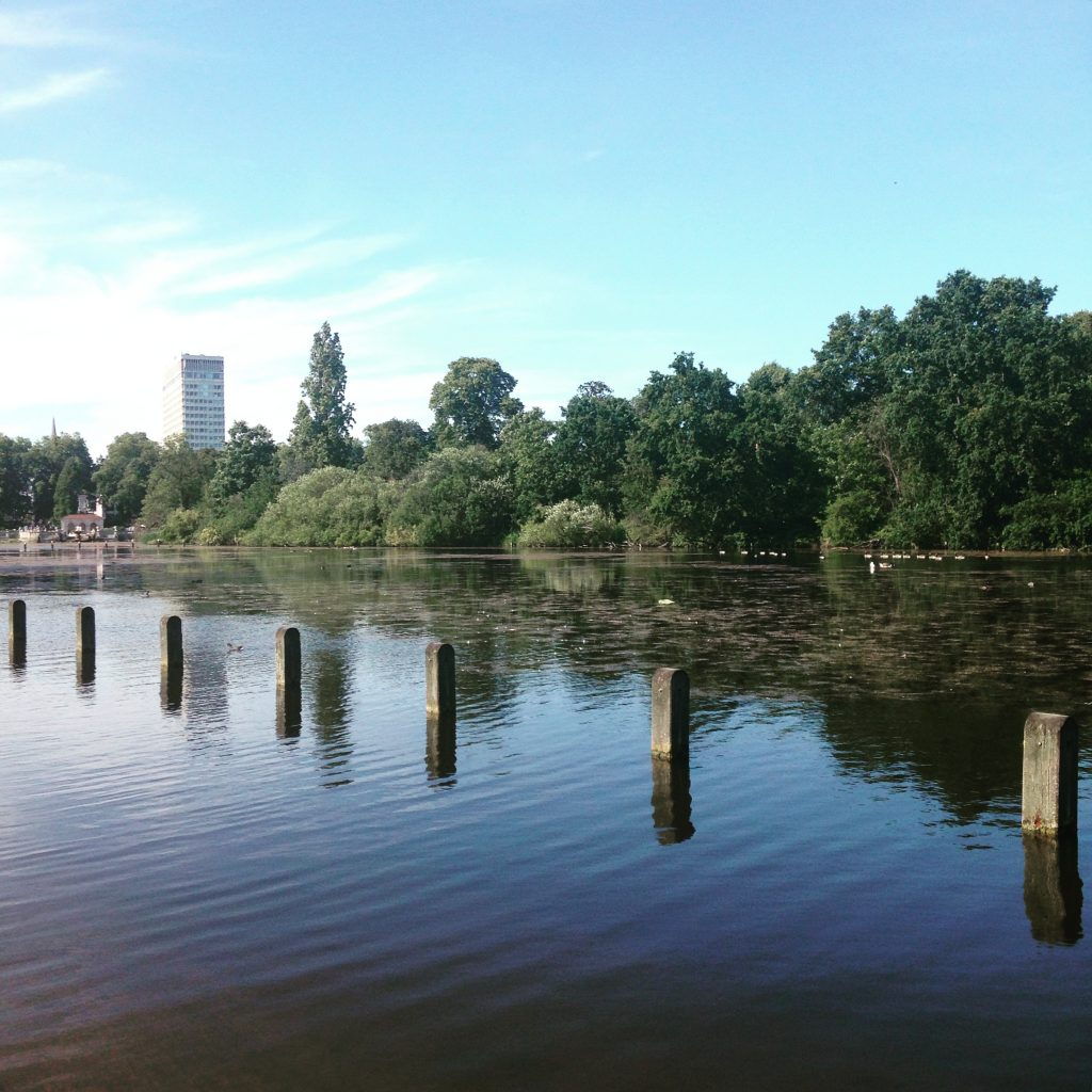 Serpentine Lake - Hyde Park - Londres