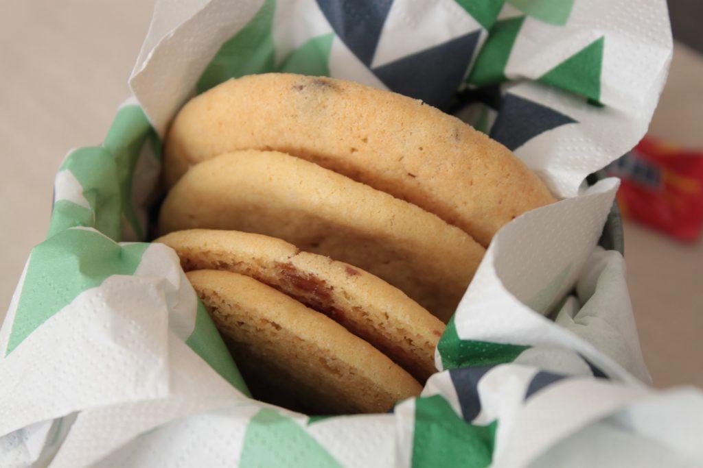 Cookies au Daim