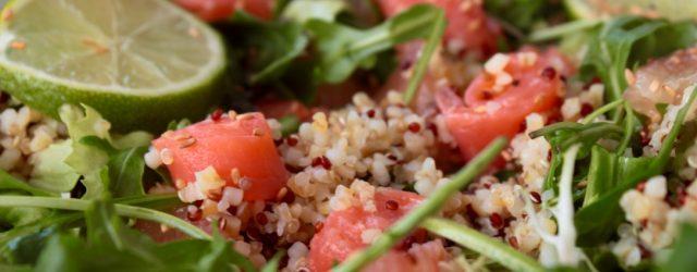 salade saumon detox