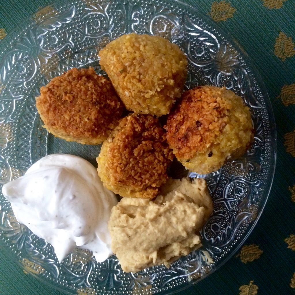 pois chiche houmous falafel
