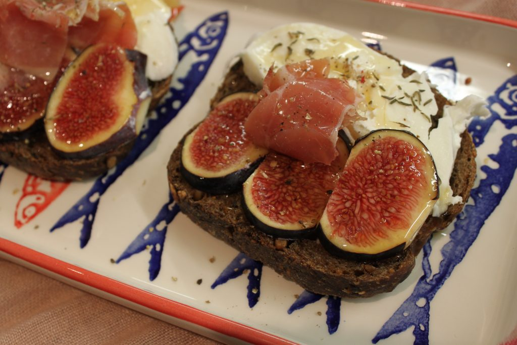 tartine aux figues