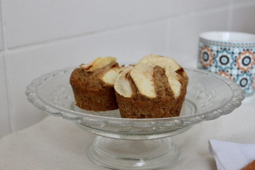 muffins vegan pomme cannelle
