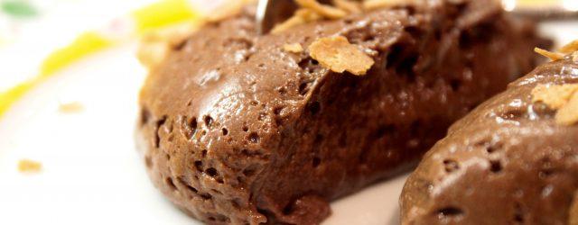 mousse chocolat hermé